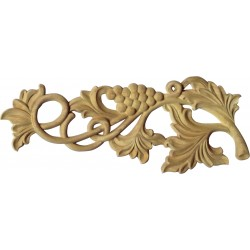 Wooden vine ornament