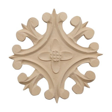 Rosette ornament, carving