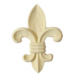 French lily carving
