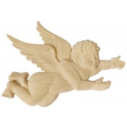 Cherub wooden carving