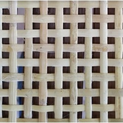 Open cane  webbing for radiator cover
