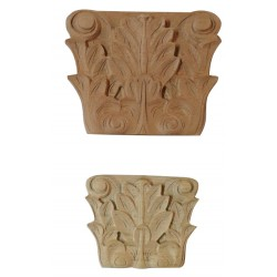 Akantus leafy wooden decoration VN-057