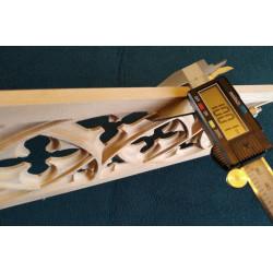 Corinthian wooden column