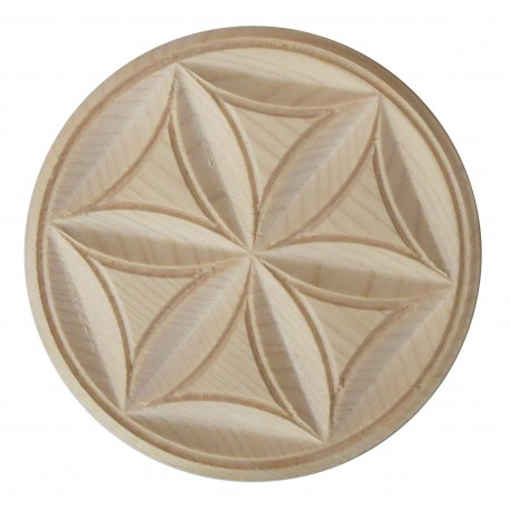 Rosette furniture decoration, carving