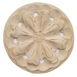 Oval rosette with leafes RN-041