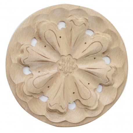 Rosette furniture ornament, carving