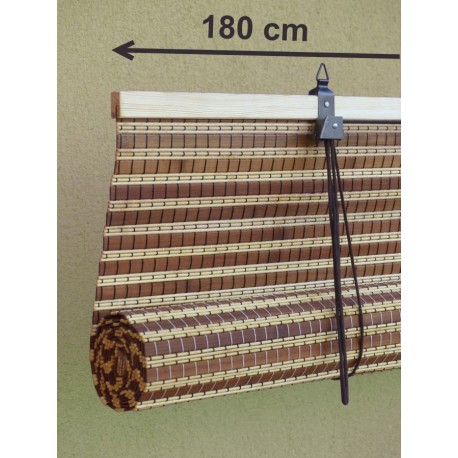 Extra wide bamboo blinds and bamboo shades