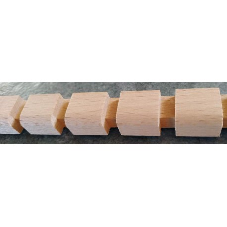 Decorative wood mouldings for furniture