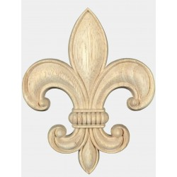 French lily carving FK-056