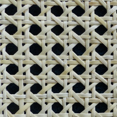 Cane webbing for example rattan radiator cover
