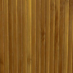 Brown bamboo wallpaper glued on textil bearer