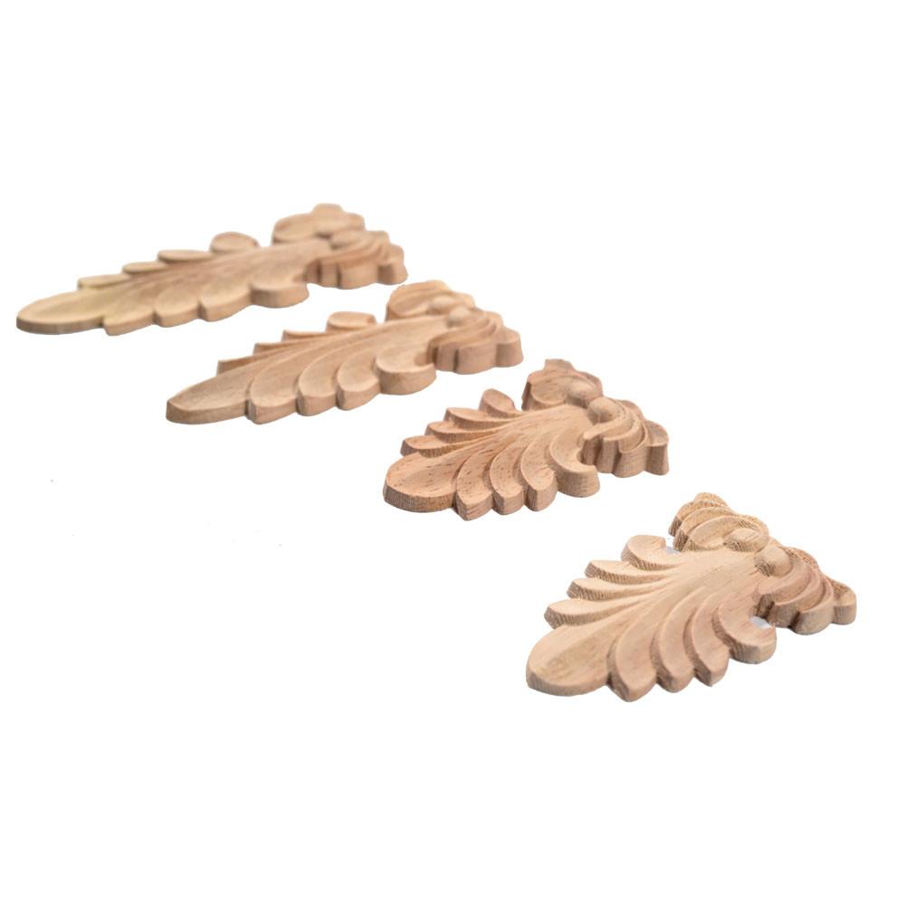 Oval wooden corbel