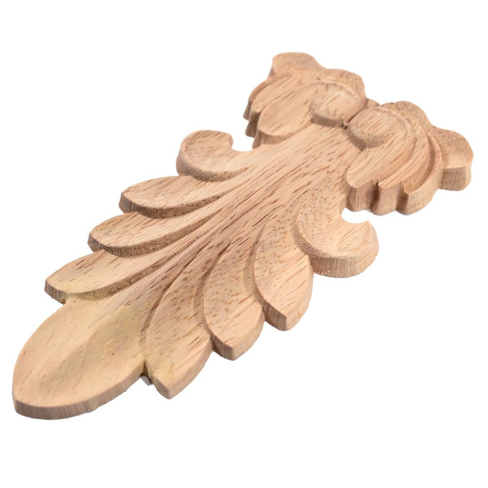 Dřevěný ornament ve tvaru kruhu - rozeta
