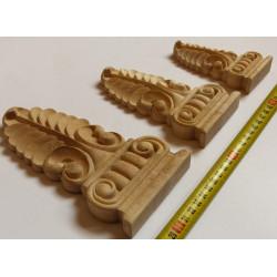 Vyřezávaný dřevěný furnier z Exoty