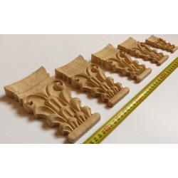 Carved wooden furniture ornament, mouldings