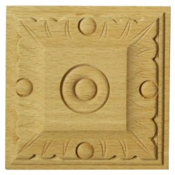 Beech moulding, carving
