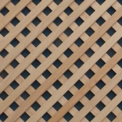 Wooden grid from beech-wood