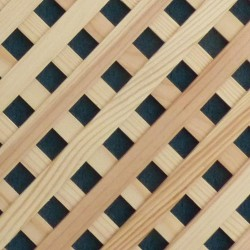 Wood lattice panels (from pine wood slats)