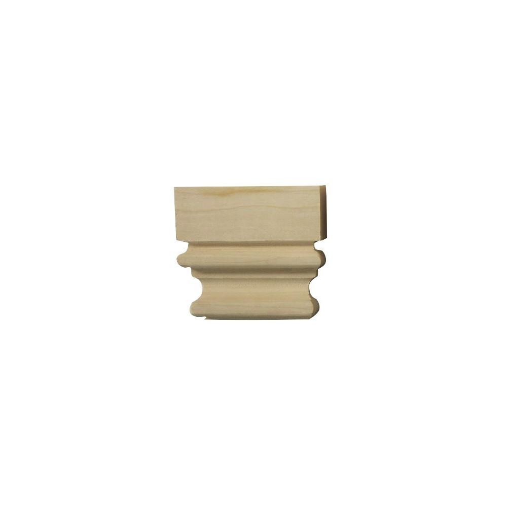 Dřevěný ornament z Exoty, gotického charakteru