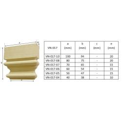 Angel carving, rosette
