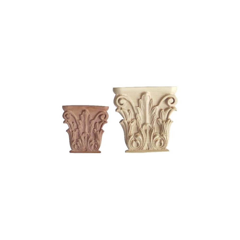 Carved ornament, rosette