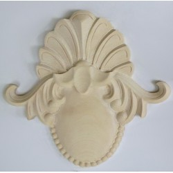 Wood onlays for cabinets and for furnitures