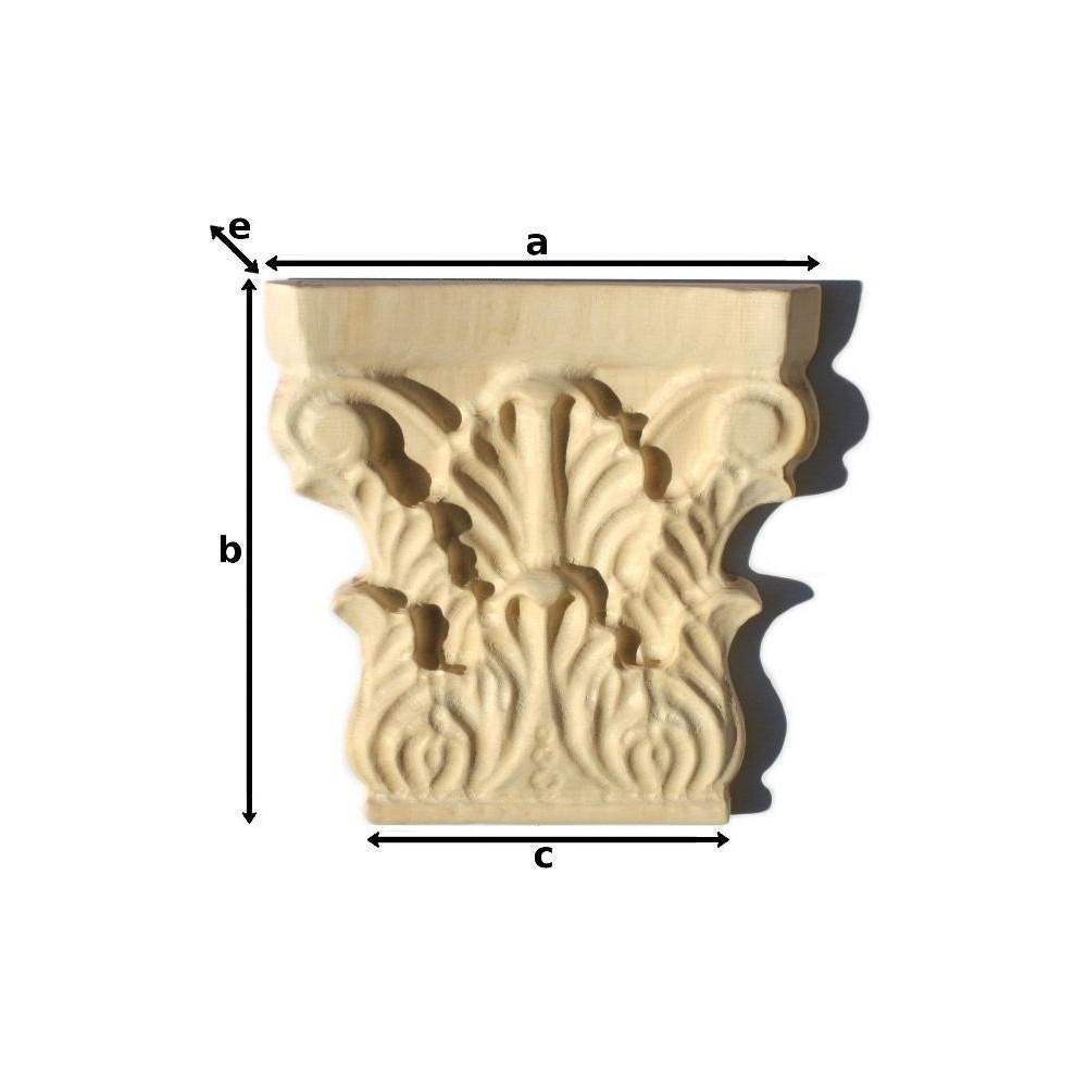 Vyřezávaný dřevěný ornament z Exot