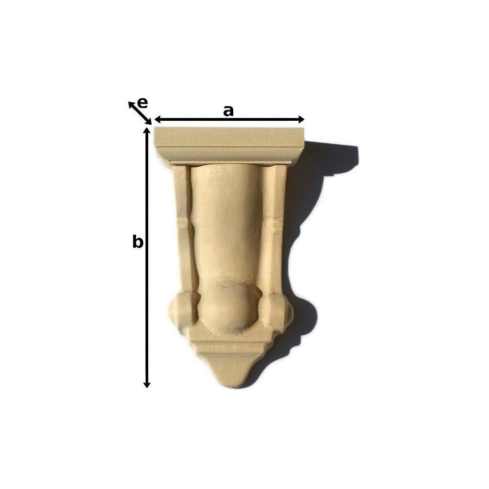Dřevěný ornament - štukatúra