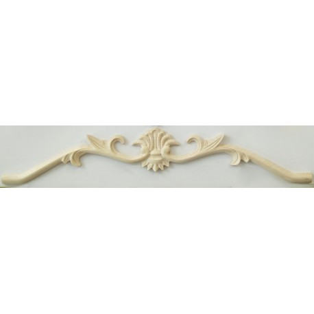 Wooden carved ornament