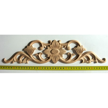 Wooden carved onlay, moulding