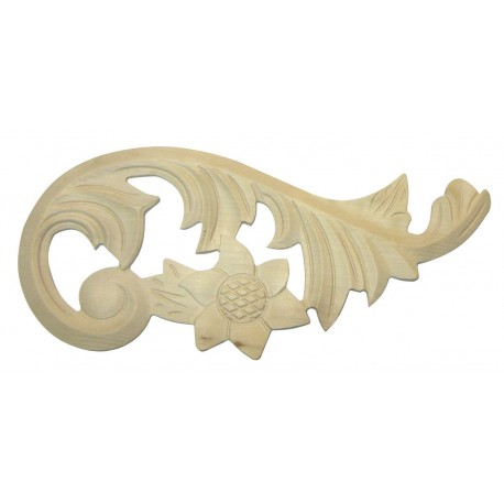 Acanthus leafy corner ornaments