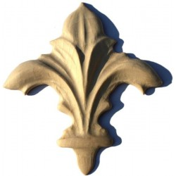 Ornamental wood moulding