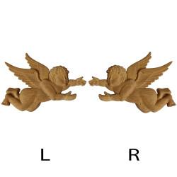 Dekorace ze dřeva s motivem lalie