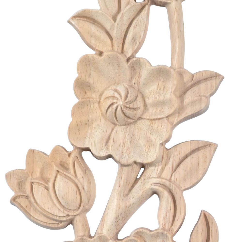 Dřevěný ornament gotická hlava sloupu