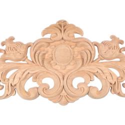 Cube form wooden leg