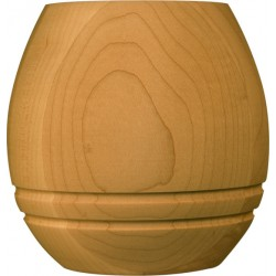 Barrel shape furniture feet