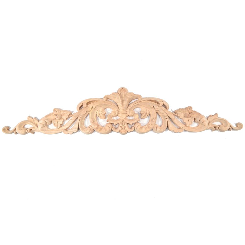 Dřevěná noha stolu ve tvaru sudu