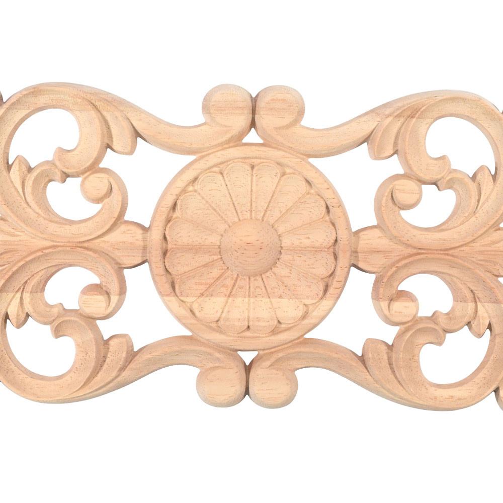 Furniture leg from hardwood