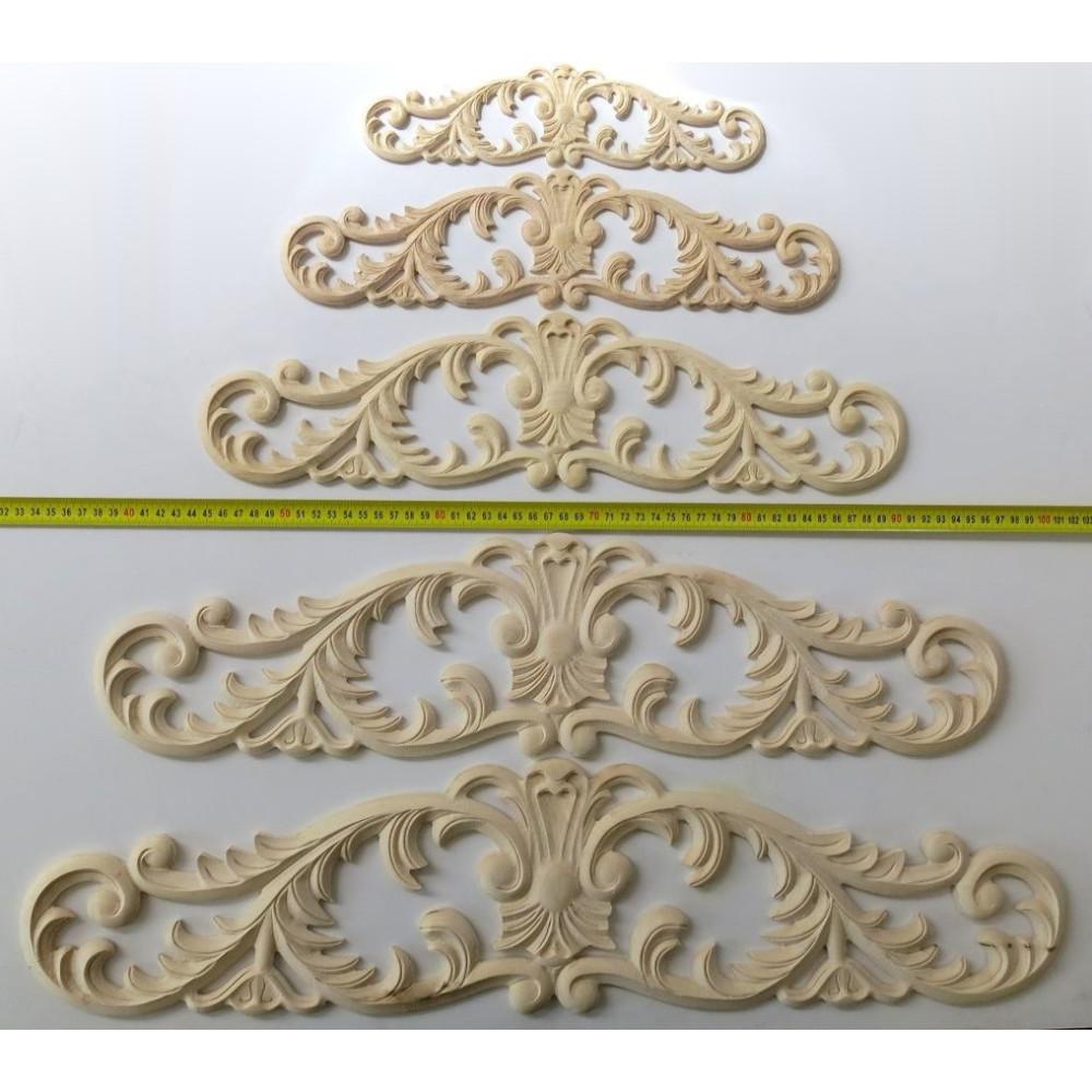 Simple wooden leg