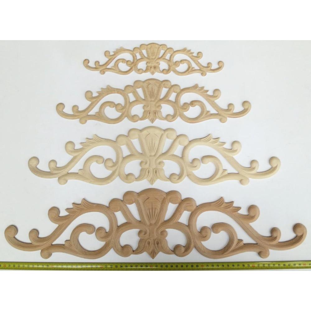 Simple table leg from hardwood