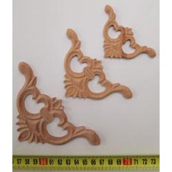 Egg and dart molding for wooden furniture restoration