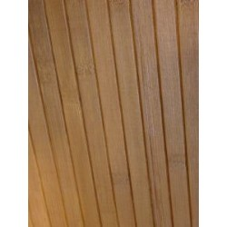 Bamboo wall covering for indoor paneling and door insert