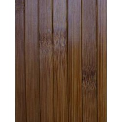 Bamboo cladding in brown color