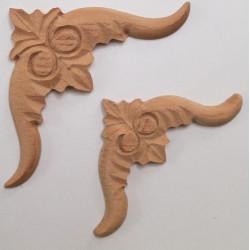 Textilre ragasztott két színű bambusz falvédő
