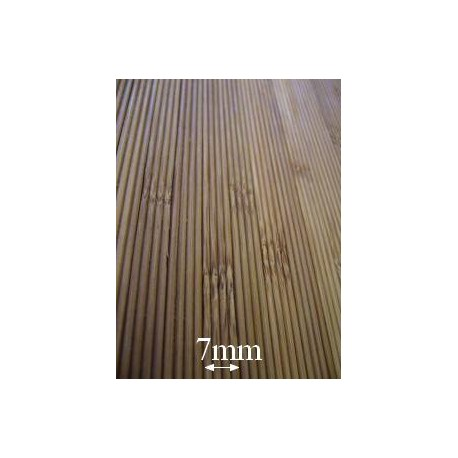 Bamboo panels for internal cladding and beadboard
