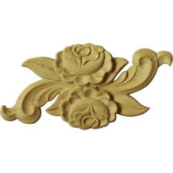 Zelená bambusová rohož z vnější kůry bambusu lepená na textil