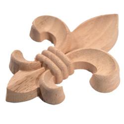 Fonállal összeerősített barna bambuszroló
