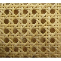 Open weave cane webbing UK for modern house interior