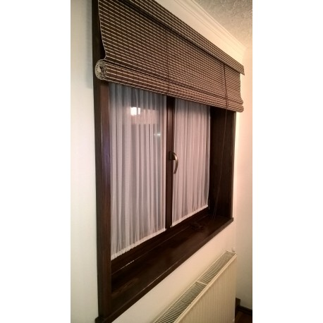 Bamboo blinds extra wide