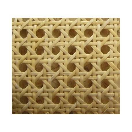 Rattan sheet for recaning chair seats of bentwood chairs